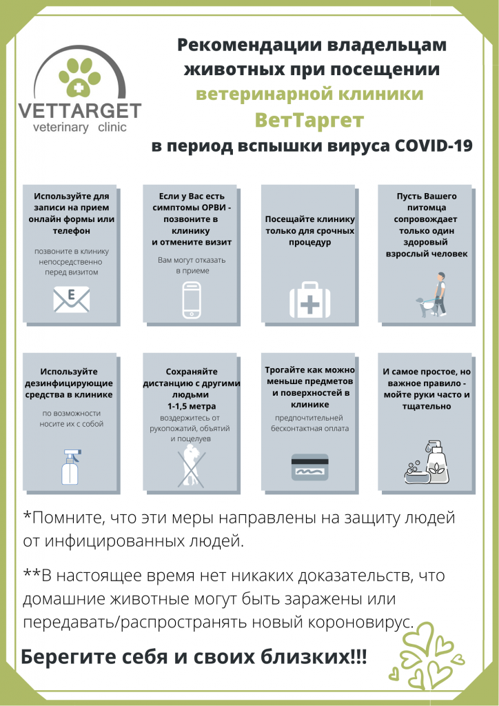 Рекомендации covid-19